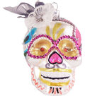Maker\u0027s Holiday Ornament-Pink Day Of The Dead Skull