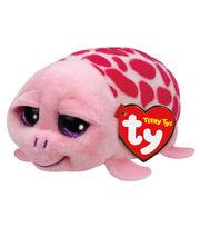 Ty Teeny Tys 4'' Shuffler Turtle-Pink, , hi-res