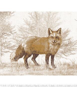 No Sew Fleece Throw-Fox