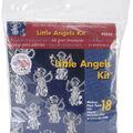Holiday Beaded Ornament Kit-Snow Crystals 3-1/2\u0022 Makes 6