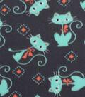 Blizzard Fleece Fabric -Breeze Kitties