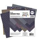 6x6 -denim Blue Paper Pad