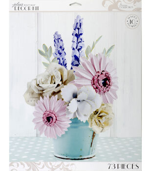 Jolee's Boutique Parisian Large Paper Flowers Kit