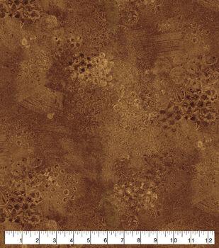 Keepsake Calico Cotton Fabric-Brown Elements