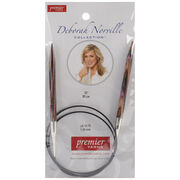 "Deborah Norville Fixed Circular Needles 32"" Size 10.75/7.0mm, , hi-res"