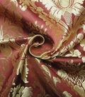 Yaya Han Cosplay Thrones Brocade Fabric -Burgundy & Gold