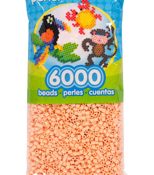 Perler 6000 Count Bead Bag-Sand