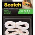 Scotch Indoor Fasteners 0.75\u0027\u0027x1.5\u0027-White