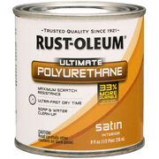 Rust-Oleum Ultimate Polyurethane Clear Satin 8oz, , hi-res