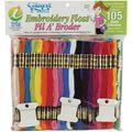 Iris Jumbo Value Pack Cotton Fill A\u0027 Broder Craft Floss