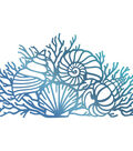 Couture Creations Seaside And Me Hotfoil Stamp-By The Seashore 2.2\u0022X3.9\u0022