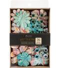 Prima Marketing 76 pk Melange Box Flowers with Gems