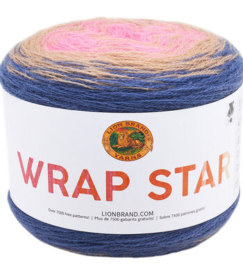 Lion Brand Wrap Star Yarn