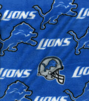 Detroit Lions Fleece Fabric -Logo, , hi-res