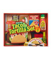 Melissa & Doug Fill & Fold Taco Set, , hi-res