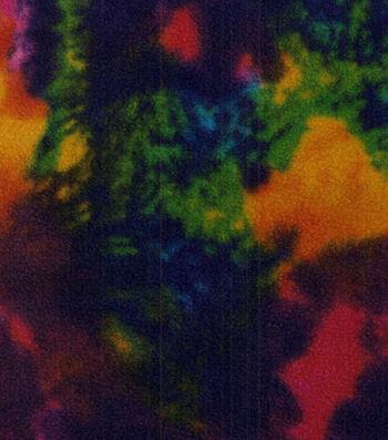 Anti-Pill Fleece Fabric 58''-Rainbow Water
