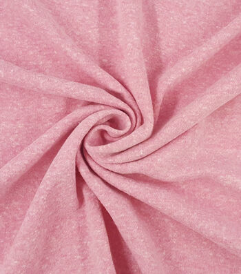 French Terry Fabric -Pink Carnation