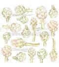 Alexandra Renke Cooking Paper 12\u0022X12\u0022-Artichokes