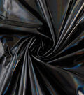 Cosplay Mirror Foil Fabric -Black