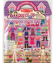 Puffy Sticker Play Set Dress-up, , hi-res