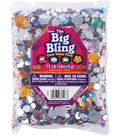 Darice Rhinestone Shapes .75 Pounds Flowers, Round