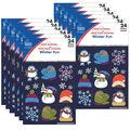 Carson Dellosa Winter Fun Prize Pack Stickers 12 Packs