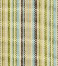 Home Decor 8\u0022x8\u0022 Fabric Swatch-Robert Allen Bristol Stripe Seafoam Fabric