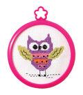 Bucilla My 1st Stitch Owl Mini Counted Cross Stitch Kit