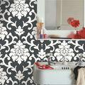 York Wallcoverings Wallpaper-Black Damask