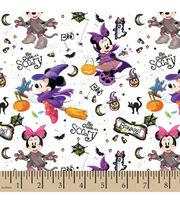 Disney Mickey & Minnie Cotton Fabric-Minnie So Cute Its Scary, , hi-res