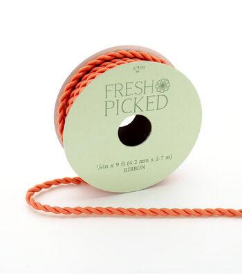 Fresh Picked Desert Aura Cord Ribbon 1/6''x9'-Peach