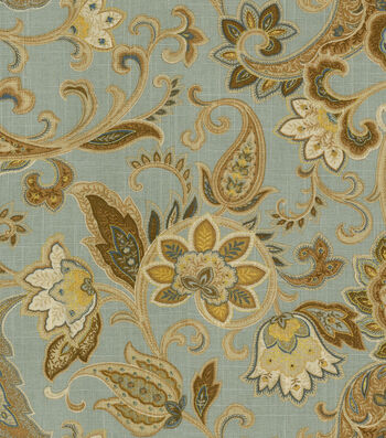 Bridgehampton Multi-Purpose Decor Fabric-Polar Blue