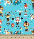 Roll Up Circus Print Fabric