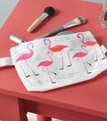 FolkArt 6\u0022x6\u0022 Painting Stencil-Flamingo