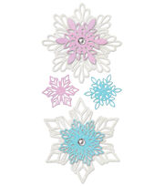 York Wallcoverings Wall Decals-Frozen Snowflakes, , hi-res