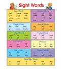 Carson-Dellosa Sight Words Chart 6pk