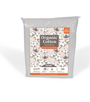 Fairfield Premium Organic Cotton Batting-Twin