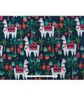 Anti-Pill Fleece Fabric 59\u0022-Trendy Llamas
