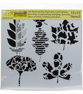 Crafter\u0027s Workshop Template 12\u0022X12\u0022-Leaf Collection