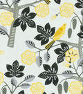 Waverly Upholstery Fabric-Small Talk Pearl