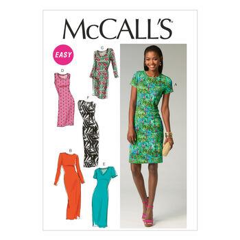 McCall's Misses Dress-M6886