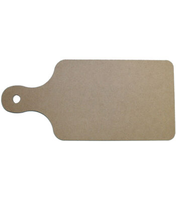 """Unfinished MDF Plaque 1/Pkg-Bread Board 6""""X13"""""""