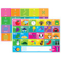 Smart Poly Learning Mats, ABC & Numbers 1-20, Pack of 10