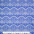 Casa Collection Eyelash Lace Fabric 57\u0027\u0027-Bright White