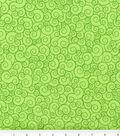 Keepsake Calico Cotton Fabric 44\u0027\u0027-Lime Garden Swirl