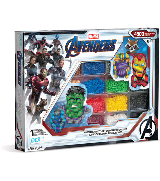 Perler Marvel Avengers Deluxe Bead Box, , hi-res, image 1