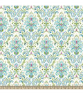 Snuggle Flannel Fabric -Main Floral