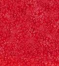 Premium Cotton Fabric 44\u0022-Red Tonal Vines