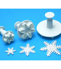 PME 3 Pack Plunger Cutters-Snowflake