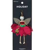 hildie & jo Holiday Doll Pendant-Red Fairy Gloria, , hi-res